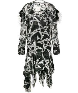 Preen by Thornton Bregazzi | Alena Star Print Asymmetric Dress