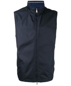 Paul & Shark   Roll Neck Waistcoat Size Large