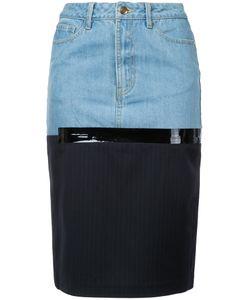 Each X Other | Midi Denim Skirt