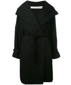 Isabel Benenato | Belted Hooded Coat 44