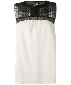 Twin-Set   Embroidered Tank Top S
