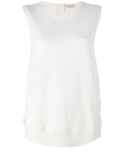 Moncler | Knitted Trim Sleeveless Top Size Small
