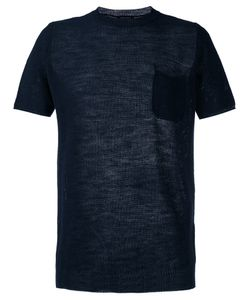 Roberto Collina | Perforated Detail T-Shirt Size 52