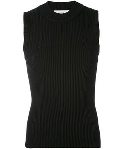 Carven | Ribbed Knit Top L