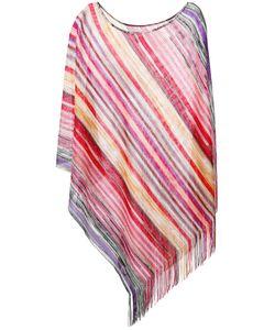 Missoni   Striped Poncho One