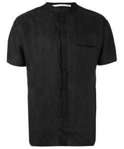 Isabel Benenato | Mandarin Neck Shortsleeved Shirt Size 48