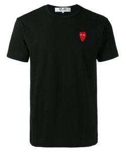 Comme Des Garçons Play   Heart Logo Patch T-Shirt Size Medium