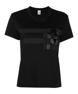Comme Des Garçons Noir Kei Ninomiya | Geometric Print T-Shirt