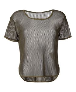 Moncler   Sheer Mesh T-Shirt L