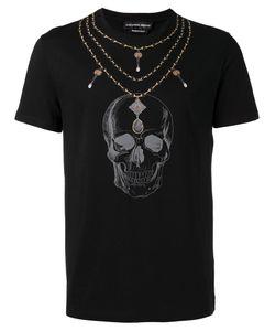 Alexander McQueen | Skull Necklace T-Shirt Small Cotton