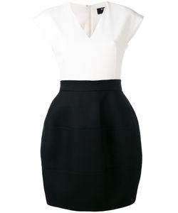 Paule Ka | Contrast Sleeveless Dress