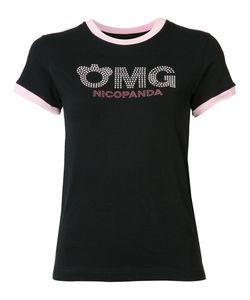 Nicopanda | Logo Ringer T-Shirt M