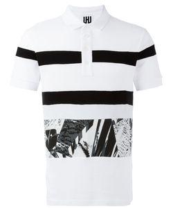 Les Hommes Urban | Striped Polo Shirt Men
