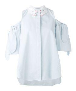 Vivetta   Cold-Shoulder Shirt 42