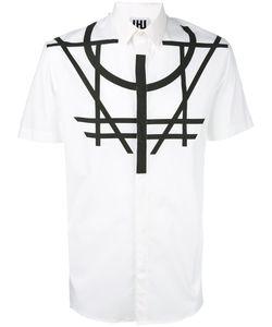 Les Hommes Urban | Geometric Print Shirt