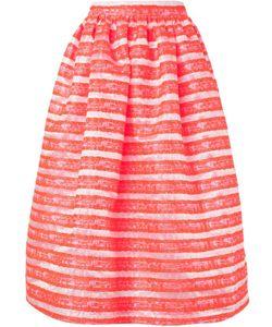 Minjukim   Jacquard Full Skirt