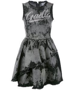 Gaelle Bonheur | Frayed Flared Denim Dress