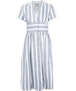 Sea | Striped V-Neck Dress