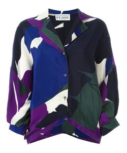 Gianfranco Ferre Vintage | Leaf Print Shirt
