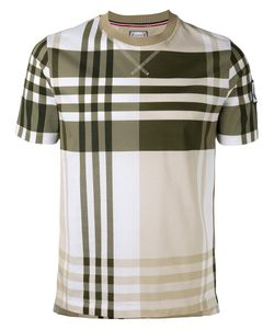 Moncler Gamme Bleu | Short Sleeve Check T-Shirt