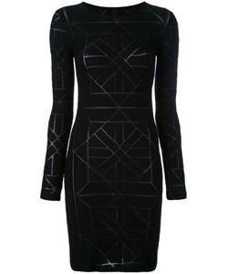Gareth Pugh | Geometric Pattern Fitted Dress