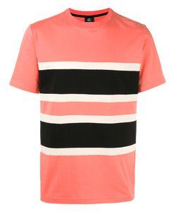 Paul Smith Jeans | Colour Block T-Shirt Small Cotton