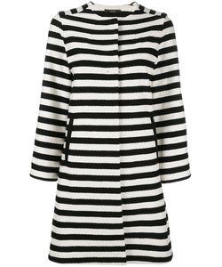 Odeeh | Horizontal Stripe Coat 40