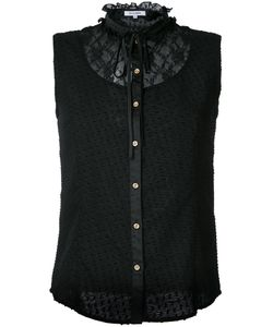 Guild Prime | Lace Panel Sleeveless Shirt
