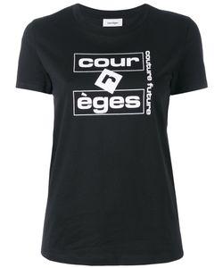 Courrèges | Logo Print T-Shirt Size 1