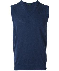 Zanone | V-Neck Pullover Size 50
