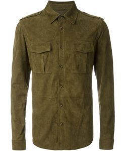 Desa | 1972 Military Style Suede Shirt