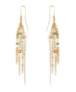 Natasha Collis | Sapphire Waterfall Earrings