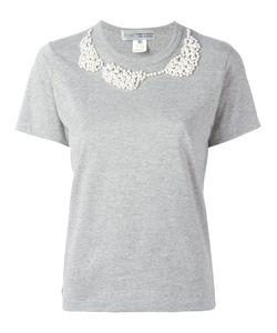Comme Des Garçons Comme Des Garçons | Pearled Trim T-Shirt