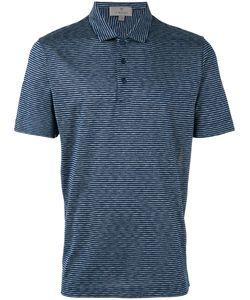 Canali | Striped Polo Shirt Size 50