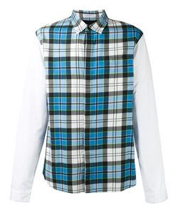 J.W.Anderson   Panelled Checked Shirt Size 46