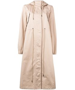 Mm6 Maison Margiela | Oversized Hooded Trench Coat Size