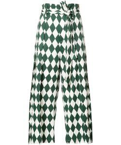 Tome | Diamond Print Trousers M