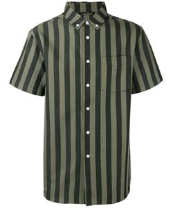 Saturdays Surf Nyc | Striped Shirt Xl Cotton/Linen/Flax