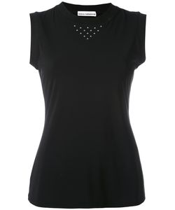 Paco Rabanne | Sleeveless Stud Detail Tank Top Women