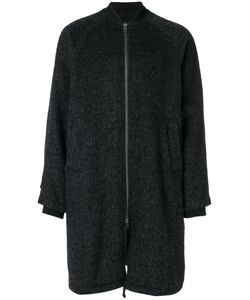 Ann Demeulemeester Grise | Boxy Zip-Up Coat Men Cotton/Nylon/Mohair/Virgin