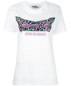 Jeremy Scott | Open 24hrs Print T-Shirt Size Medium