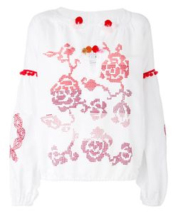 Forte Couture | Patterned Blouse