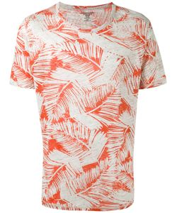 Majestic Filatures | Leaf Print T-Shirt