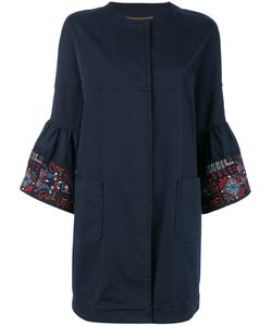 Bazar Deluxe | Embroidered Sleeve Coat Size
