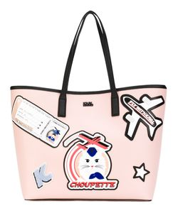 Karl Lagerfeld | Patches Shopping Bag