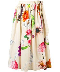 Blumarine | Tie Side Skirt