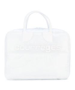 Courrèges   Logo Appliqué Large Tote
