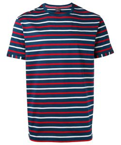 Paul & Shark | Stripe Crew Neck T-Shirt Small Cotton