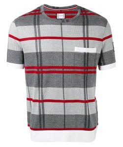 Moncler Gamme Bleu | Check Knit T-Shirt Size Large