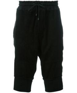 Di Liborio | Panelled Bermuda Shorts 50 Cotton/Suede/Spandex/Elastane